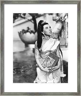 The King And I, Rita Moreno, 1955. Tm & Framed Print by Everett