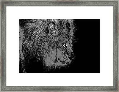 The King Framed Print by Dan Sproul