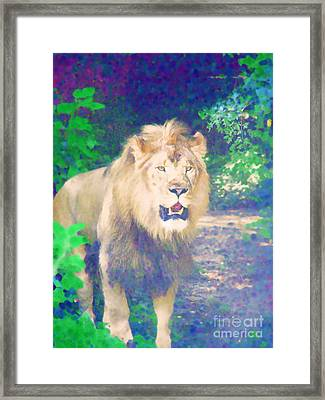 Framed Print featuring the photograph The King by Diane Miller