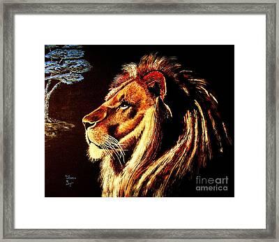 the King Framed Print