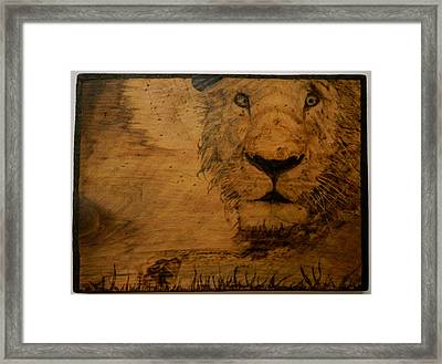 The King Framed Print by William Waters