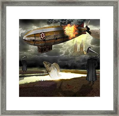 The Kingdom Of Silence Framed Print by Larry Butterworth