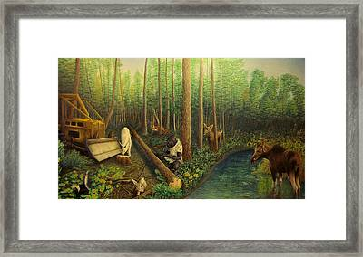 The Kingdom Framed Print by Phil Welsher