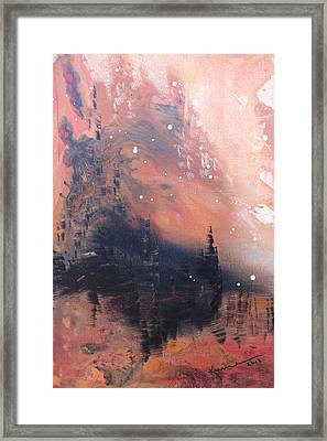 The Kingdom Under The Mountain Framed Print by Kume Bryant