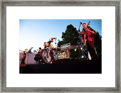 The Kingpins II Framed Print by David Patterson