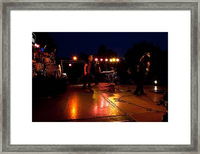 The Kingpins Rock The Night Away Framed Print