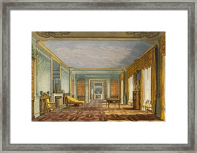 The Kings Library From Views Of The Framed Print by John Nash