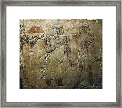 The Kings Of Punt. 1473 Bc. Detail Framed Print by Everett