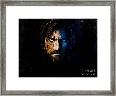 The Kingslayer Framed Print