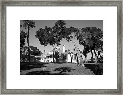 The Kingsley Plantation Framed Print by Lynn Palmer