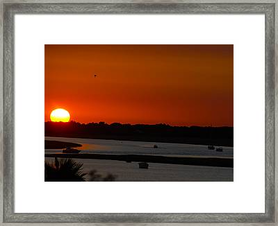 The Kiss Of Darkness Framed Print