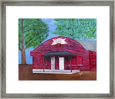The Kit Kat Lounge Framed Print