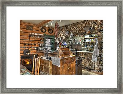 The Kitchen Framed Print by Juli Scalzi