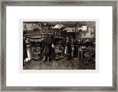 The Kitchen Of A Common Lodging House, Spitalfields Framed Print by Litz Collection