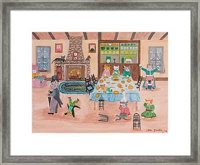 The Kittletons No School Today Framed Print by Sam Yonts