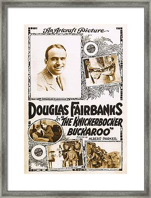 The Knickerbocker Buckaroo, Douglas Framed Print by Everett
