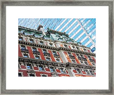 The Knickerbocker Hotel Framed Print by Sarah Loft