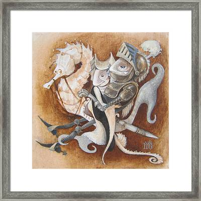 The Knight Tale Framed Print