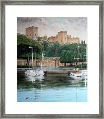 The Knights Castle Framed Print by Anastassios Mitropoulos