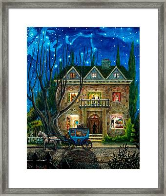 The Knocker Framed Print