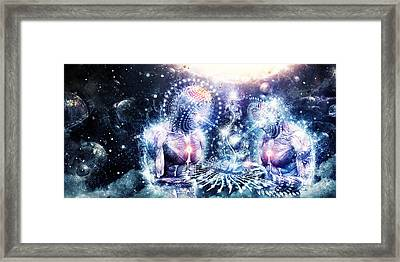 The Knowledge Of The Planets Framed Print by Cameron Gray