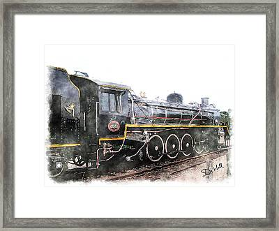 The Knysna Train Framed Print