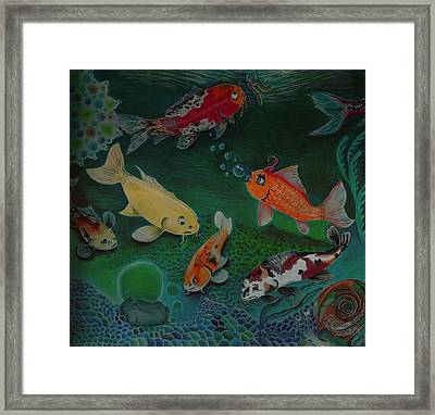 The Koi Life Framed Print