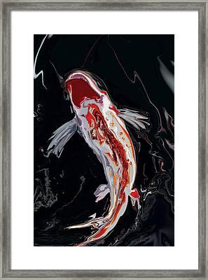 The Koi Framed Print