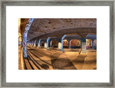 The Krog Street Tunnel Framed Print by Mark E Tisdale