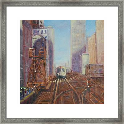 The L Framed Print by Will Germino