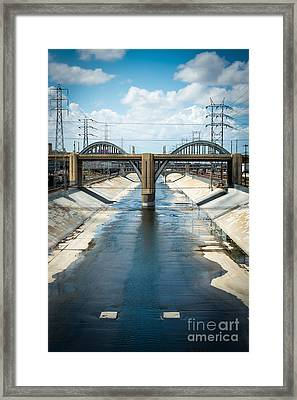 The La River Framed Print