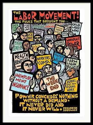 Labor Unions Framed Prints