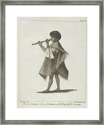 The Lad Taiyota Framed Print by British Library