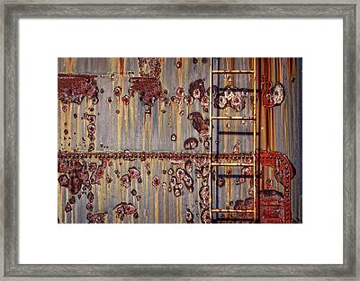 The Ladder Framed Print by Marcia Colelli