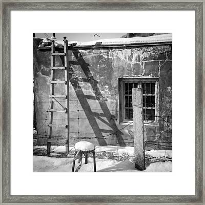 The Ladder Framed Print by Stephanus Le Roux