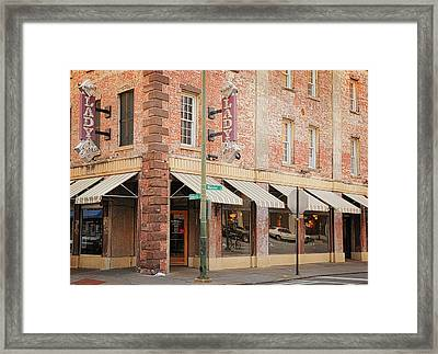 The Lady And Sons Framed Print