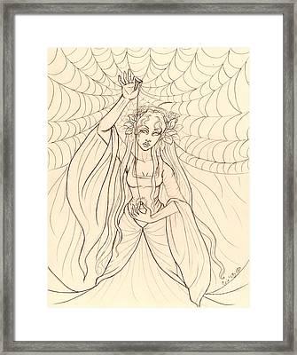 The Lady Of Shalott Framed Print by Coriander  Shea