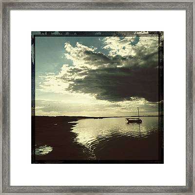 The Lady Of The Sea Framed Print