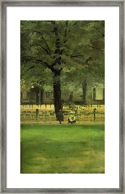 The Ladys Mile, Kensington Gardens, London Framed Print by Litz Collection