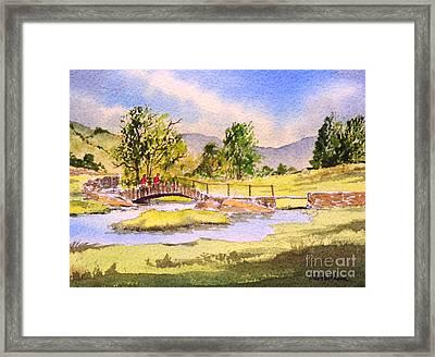 The Lake District - Slater Bridge Framed Print