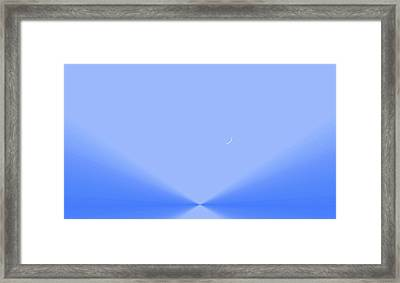 The Lake Of The Sky Framed Print