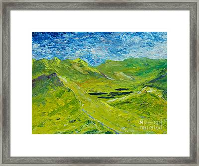 The Lakes Of Killarney  Original Sold Framed Print by Conor Murphy