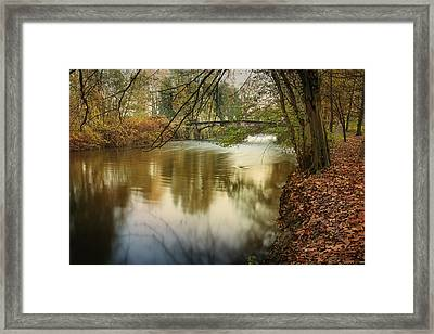 The Lambro River Framed Print