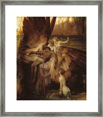 The Lament For Icarus Framed Print