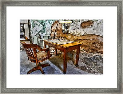 The Lamp And The Chair Framed Print by Paul Ward