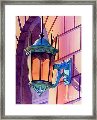 The Lamp On Goodwin Framed Print by Robert Hooper