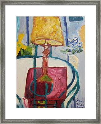 The Lamp Framed Print by Shea Holliman