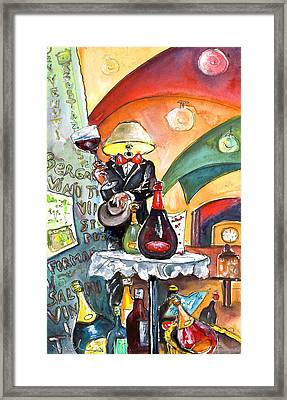 The Lampman From Bergamo Framed Print