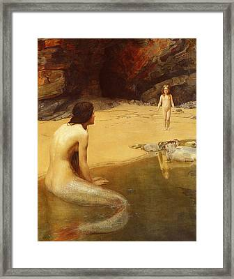 The Land Baby Framed Print by Philip Ralley