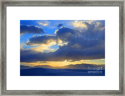 The Land Of Enchantment Framed Print by Bob Christopher